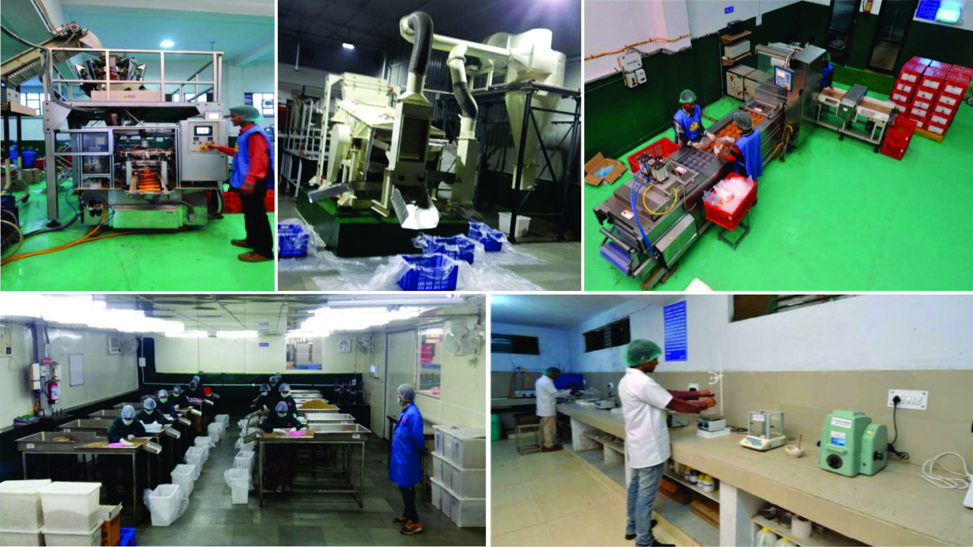 Factory at a Glance- VKC Nuts Pvt Ltd